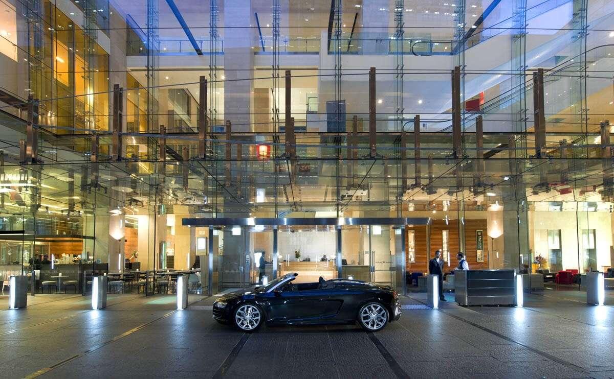 Hilton Gateshead Car Park